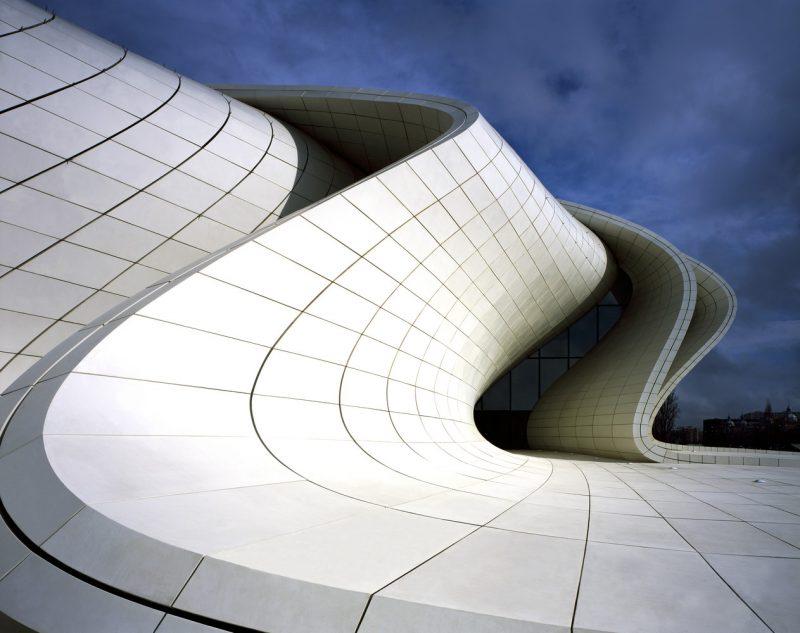 ZAHA HADID (2007-2012) Complexe Culturel, Bakou, Azerbaïdjan Heydar Aliyev (Arabie Saoudite)