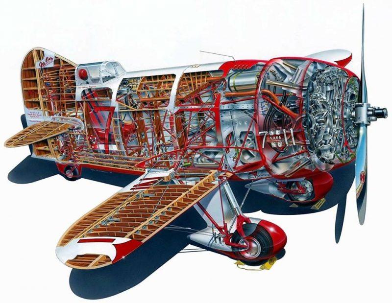 Gee Bee R1 R2 modèle Z (1930) US