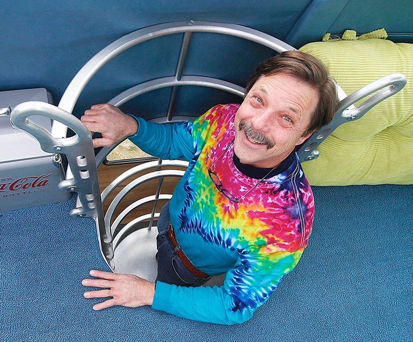 Randy Grubbs Moto Scooter Blastolene Decoliner