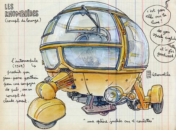 Jean-Pierre Ponthieu L'automodule, les Rhomboïdes, France