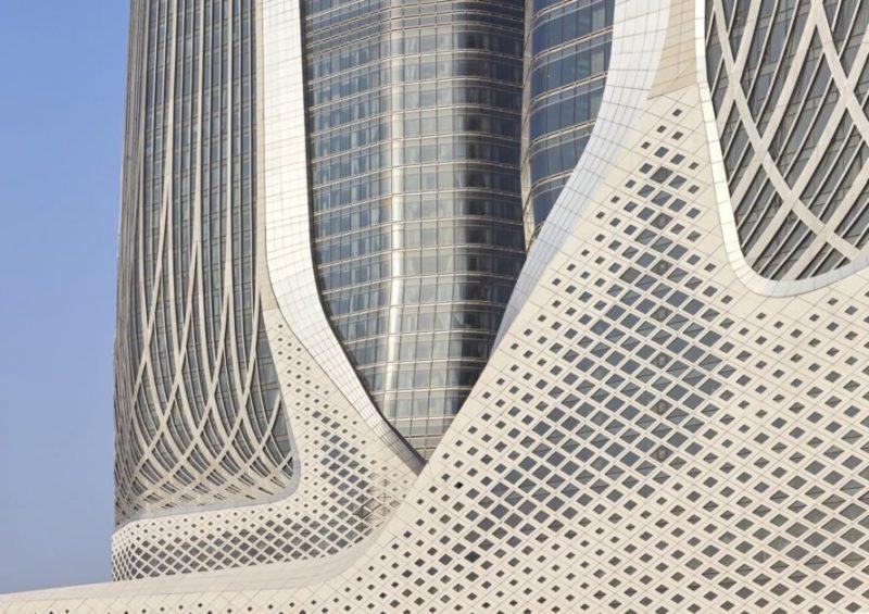 ZHA Nanjing Centre culturel (2012-2015) Nankin, Chine