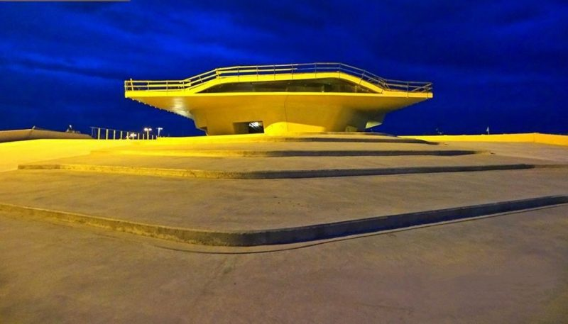 Terminal Maritime de Salerne (2016) Zaha Hadid Architects.