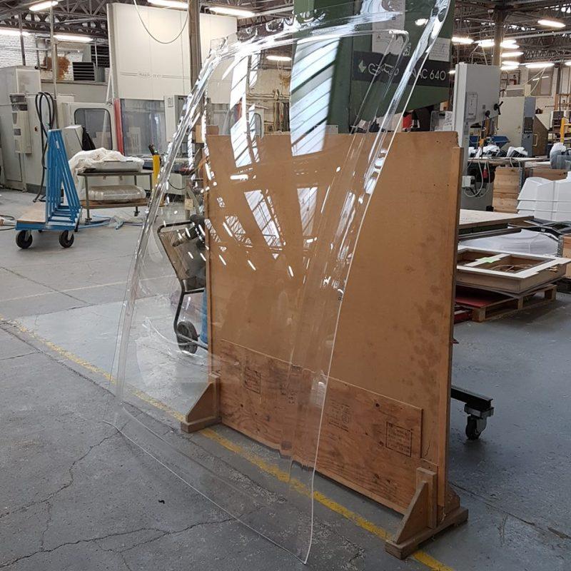 L'Association PIACE LE RADIEUX – Fabrication de Baies Bulle Six Coques 2017-2018