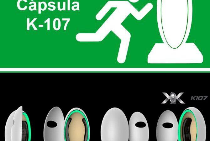 K107 Capsules de Survie Reynaldo Vela Coreño – Mexico, Mexique