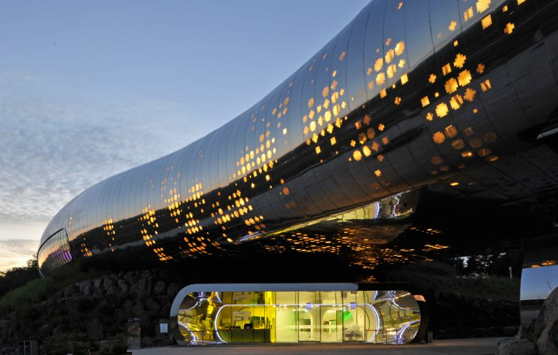 X-TU Musée de la Préhistoire Jeongok, Corée du Sud
