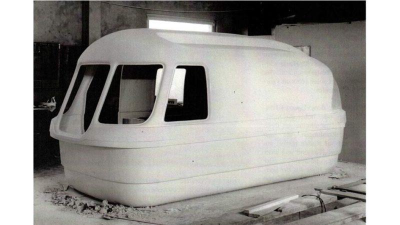 Bulle Plastique Caravane Suleica Amphibie (1961-1962) Allemagne