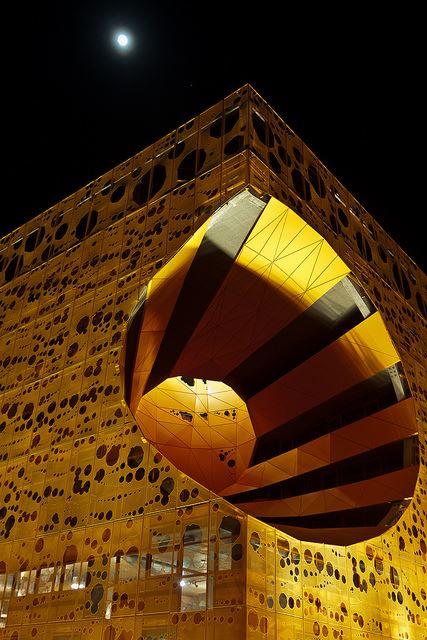 Jacob + MacFarlane Cube Orange Lyon, France
