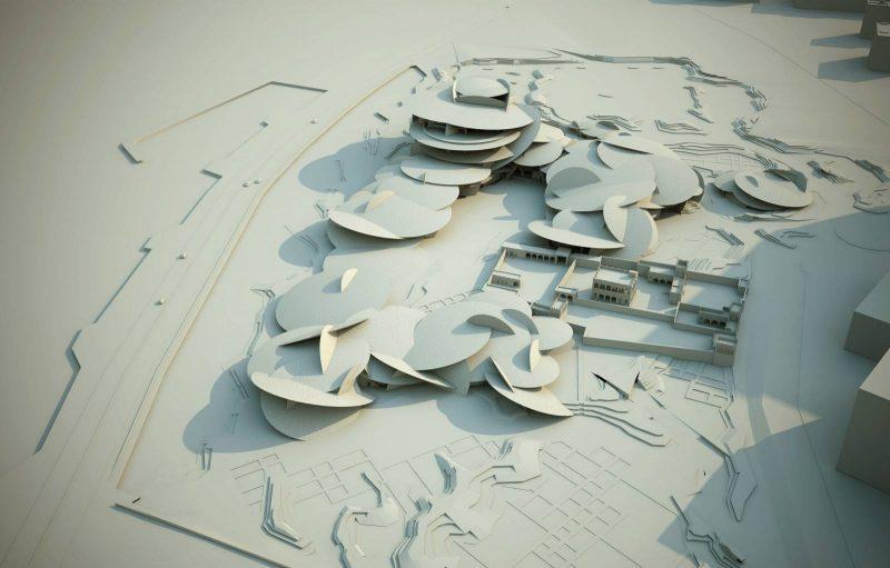 Jean Nouvel Chantier et Musée National du Qatar (2019)