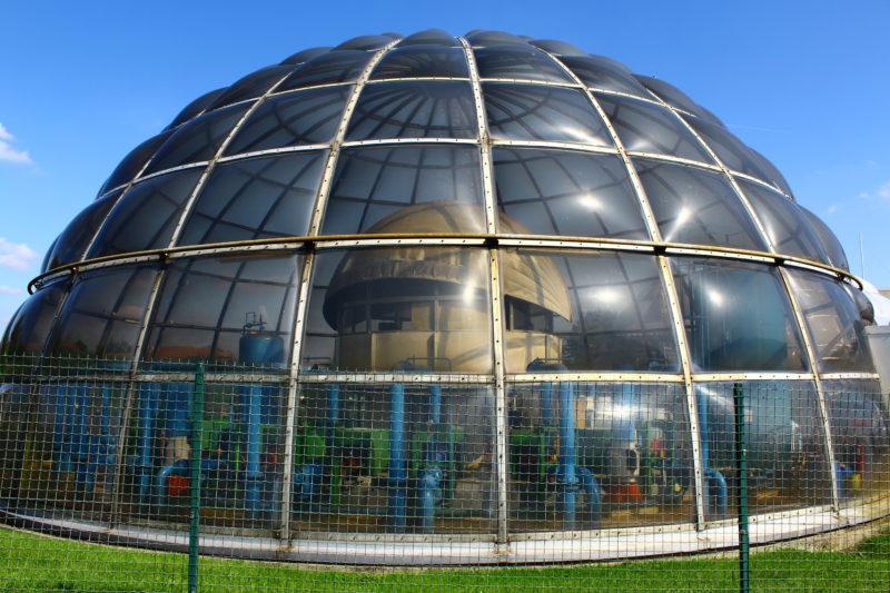 Bulles Domes Géothermique Urbain (1981) Meaux 77100 (France)