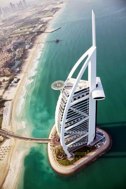 Hôtel Burj Al Arab Dubaï, Arabie Saoudite