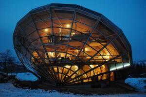 bubbles Architecture –  Eric Wasser inventor – Heliodome (2011)-Passive Solar House Bioclimatique –