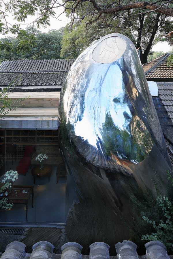 Hutong Bubble 32, Yansong par MAD Architects Beijing, Chine