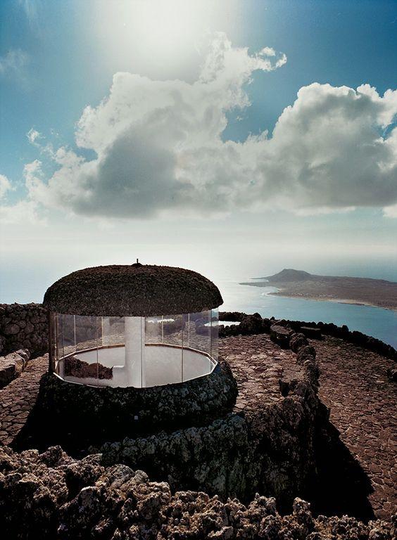Bulle Sous-terre Volcanique – Le Mirador Del Río (1974) Fondation César Manrique, Île Lanzarote, Canaries