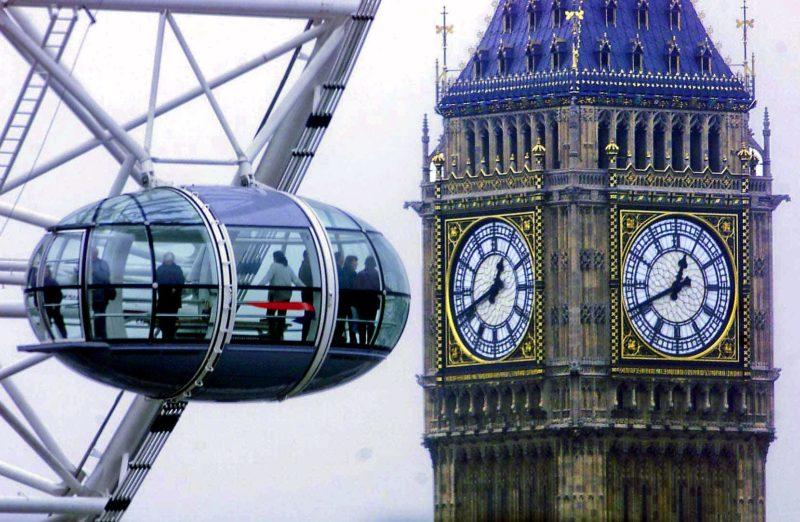 Bulle Roue (1998-1999) LONDON EYE (2000) Londres, Grande Bretagne