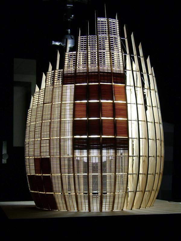 Renzo Piano Tjibaou, Nouméa (1990-1998) Nouvelle-Calédonie