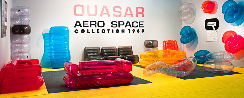 Quasar Khahn (1968) Inflatable Aerospace Furniture