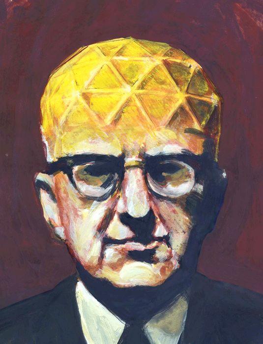 Architecture Bulle Dôme Géodésique Inventeur R.Buckminster Fuller (1895-1983)