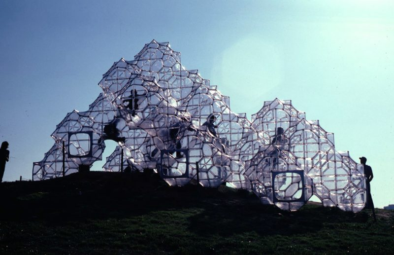 SOAP BUBBLE CASTLE (1975-1980) Peter Jon Pearce (1936) Malibu, Californie (CA)