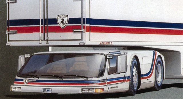 Camion Steinwinter (1978) GM Bison Chevrolet USA