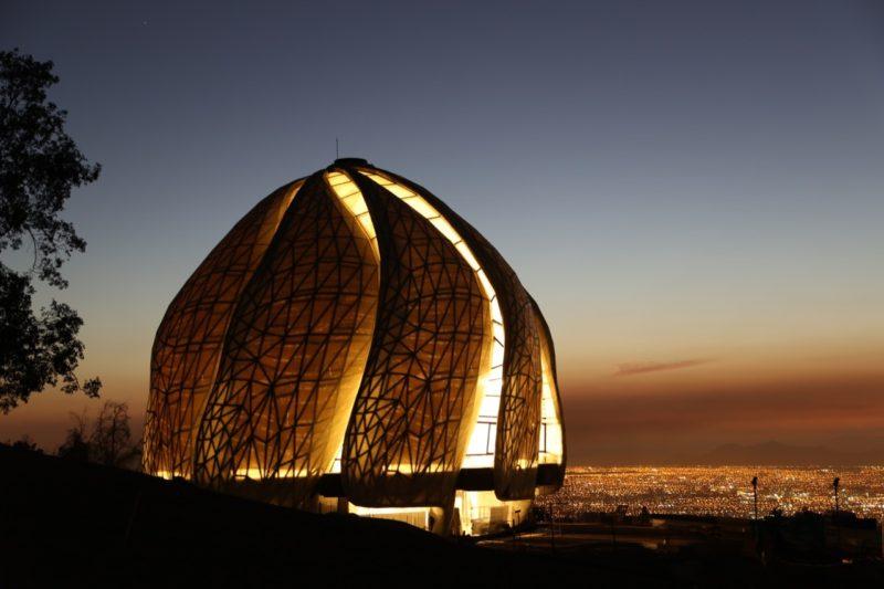Bulle – Temple Santiago Bahá'i (2016) – Hariri Pontarini Architectes, Chili (Amérique du Sud)