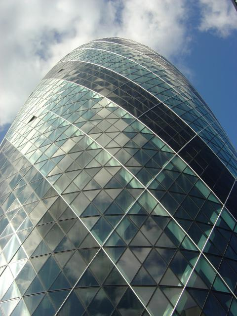Bulles Architecture – Norman Foster (2004) Le 30 St Mary Axe – London
