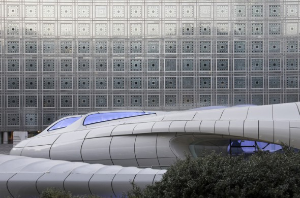 Zaha Hadid – Pavillon Art Mobile Chanel