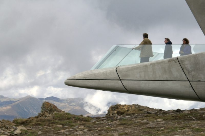 Zaha Hadid Architects – Messner Mountain Museum Corones