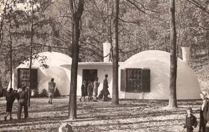 Maison Bulle Béton Airform – Wallace Neff (1895-1982) Architecte – Californie (CA)
