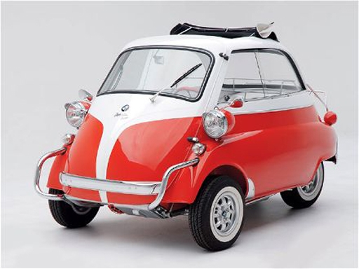 Véhicules Urbain Compact – Conception Italienne, ISO Rivolta – BMW Isetta (1953-1962)
