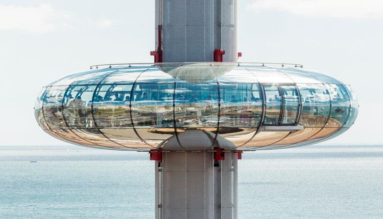 Bulle Tower Marks Barfield – BA de i360 (2006 – 2016) Brighton, Britain, UK