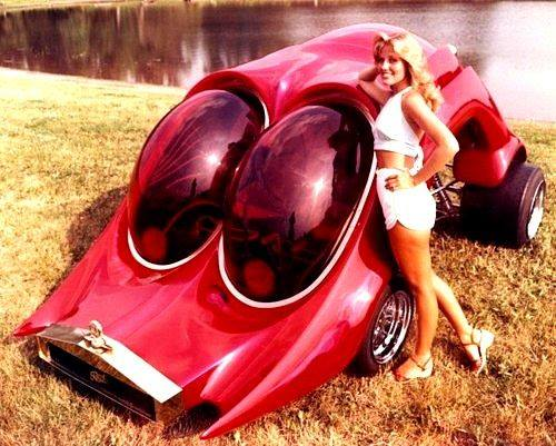 The RoAch-CoAch (1978) Custom Show Car by Ed Newton construit par Dan Woods, Don Boeke